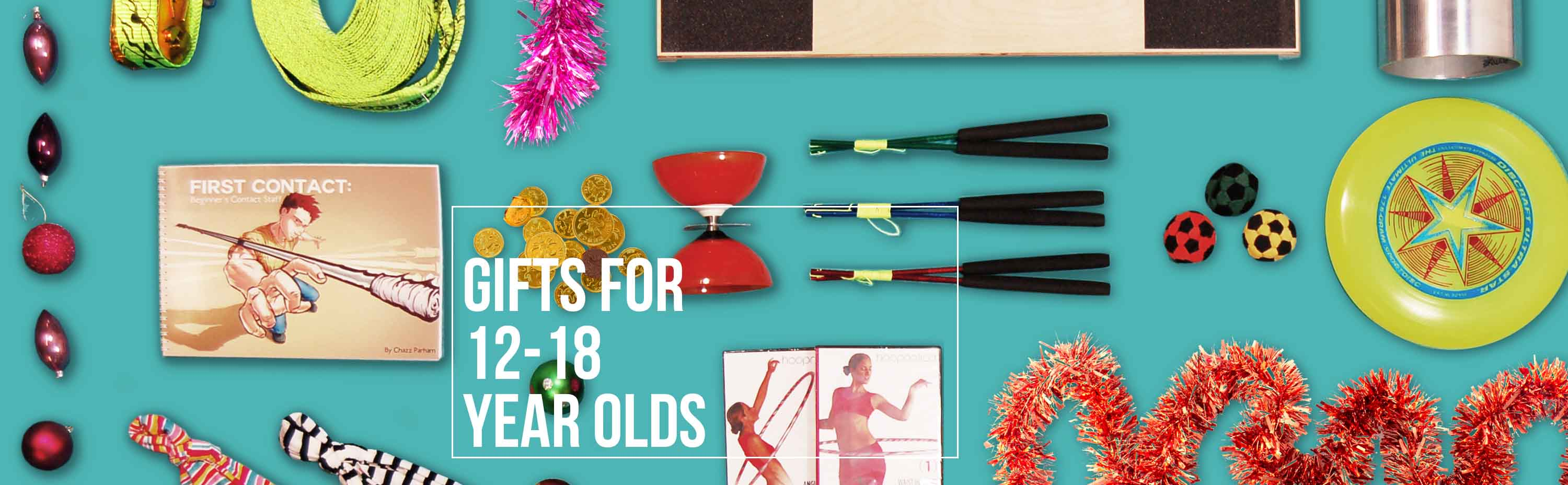 Presents for 12-18 Year Olds