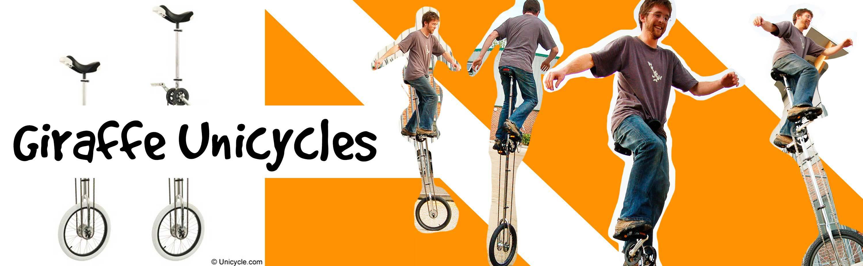 Giraffe Unicycles