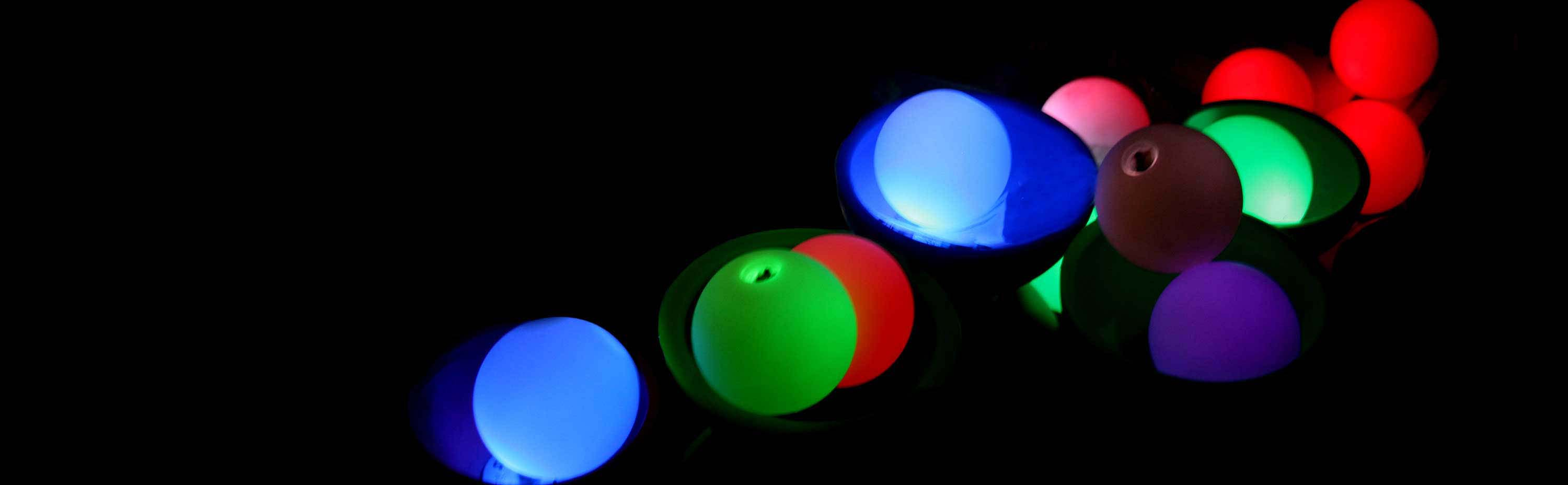 LED Glow Contact Juggling Balls