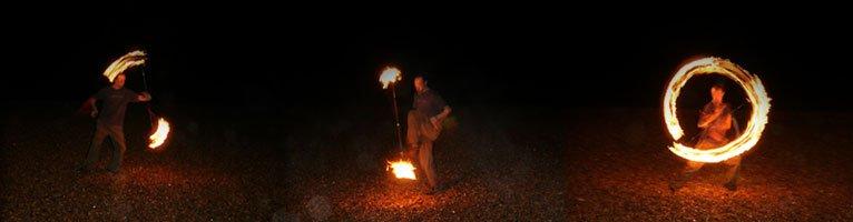 Fire Staffs