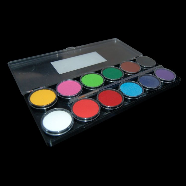 Diamond Fx 12 Colour Face Paint Palette Essential Ebay