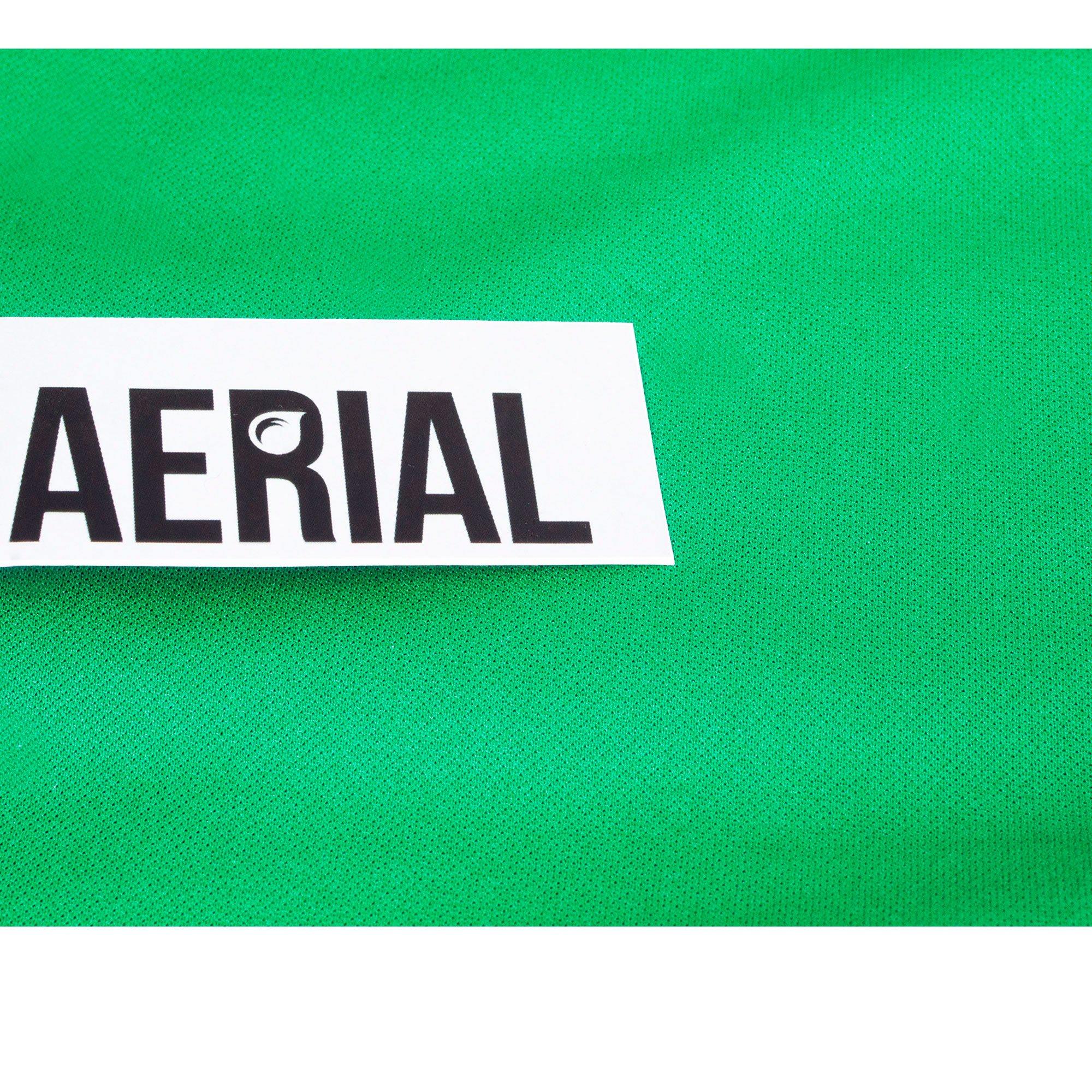 Firetoys Aerial Silk (Aerial Fabric Fabric Fabric / Tissus) - Kelly Grün-10 metres 911698