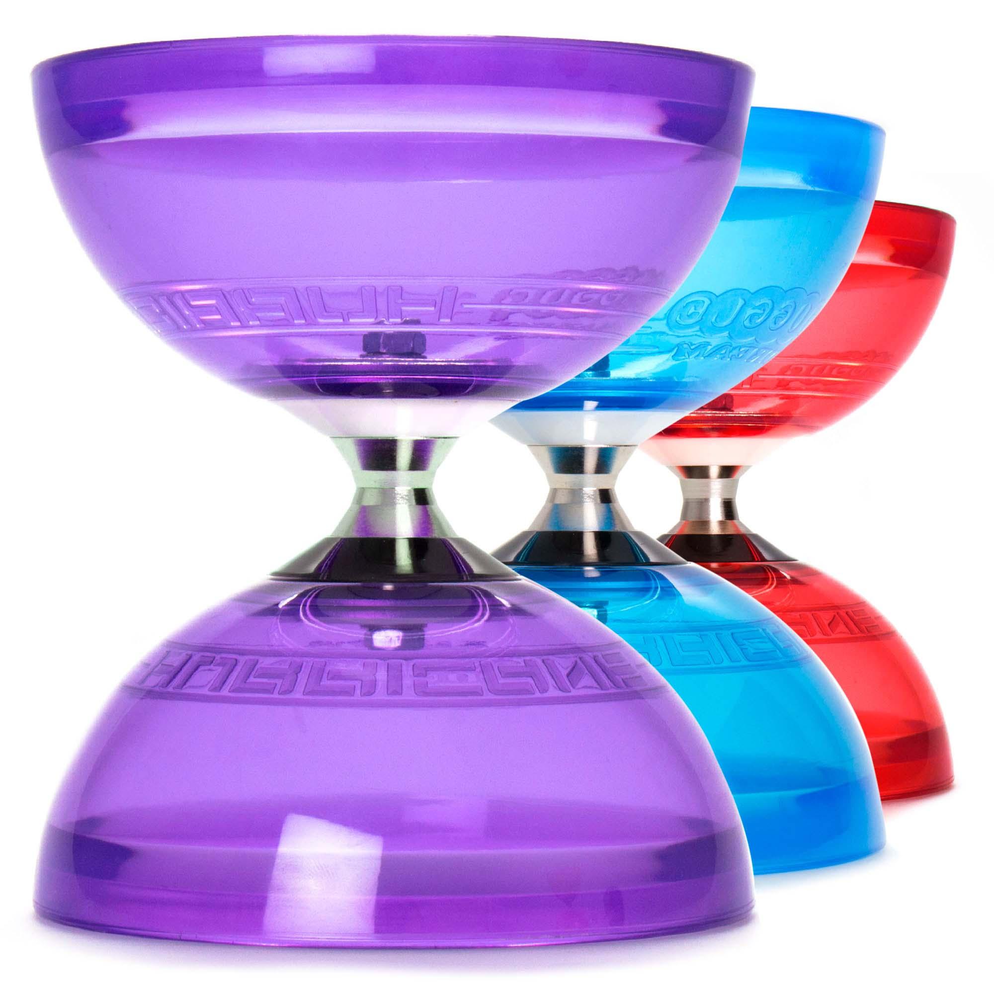Juggle Dream Hurricane Triple Bearing Circus Diabolo Toy