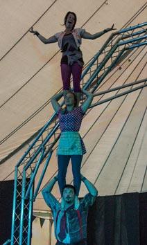 LIT three high. Copyright Chaka September