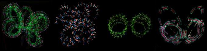 Lumin-Art Pixel Stick Patterns